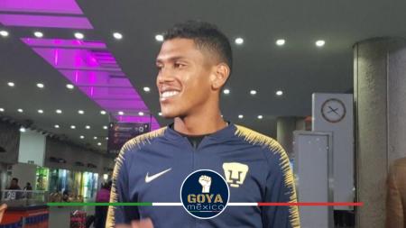 Jeison Angulo tiene 5 juegos con Pumas