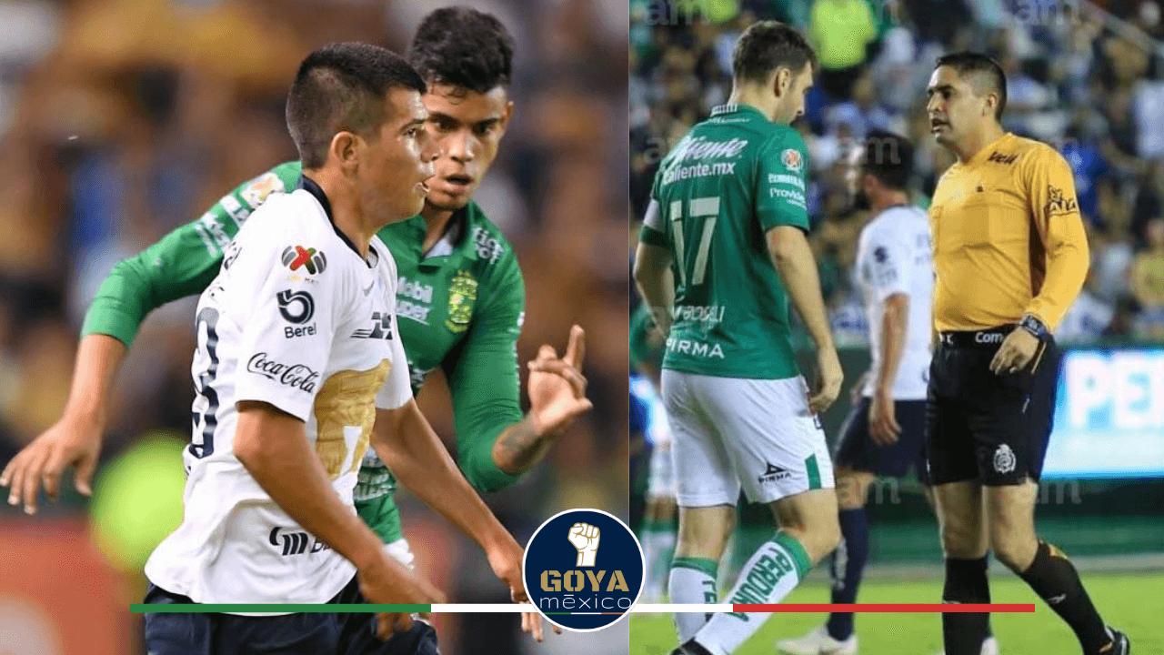 Oscar Mejia pitara el Pumas vs Dorados en Copa MX