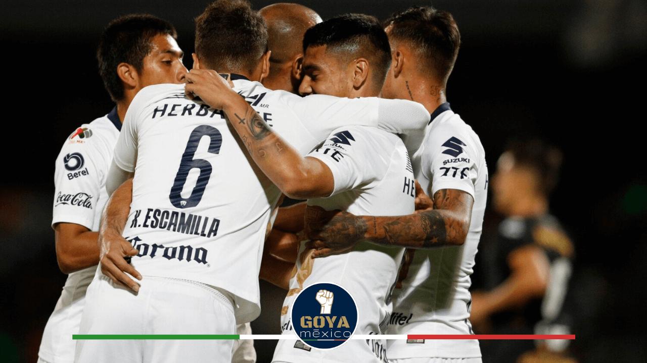 Pumas golea 3-0 y elimina a Dorados y Maradona