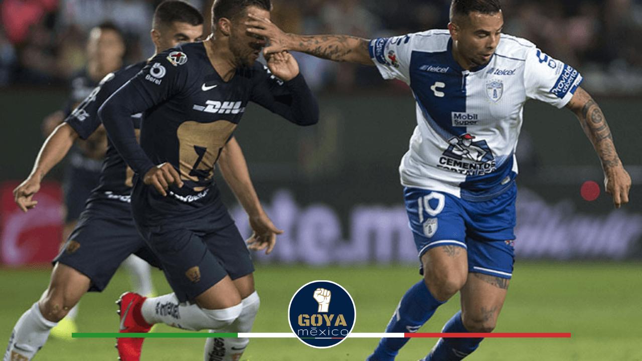 Pumas y Pachuca empatan sin goles en amistoso en EU