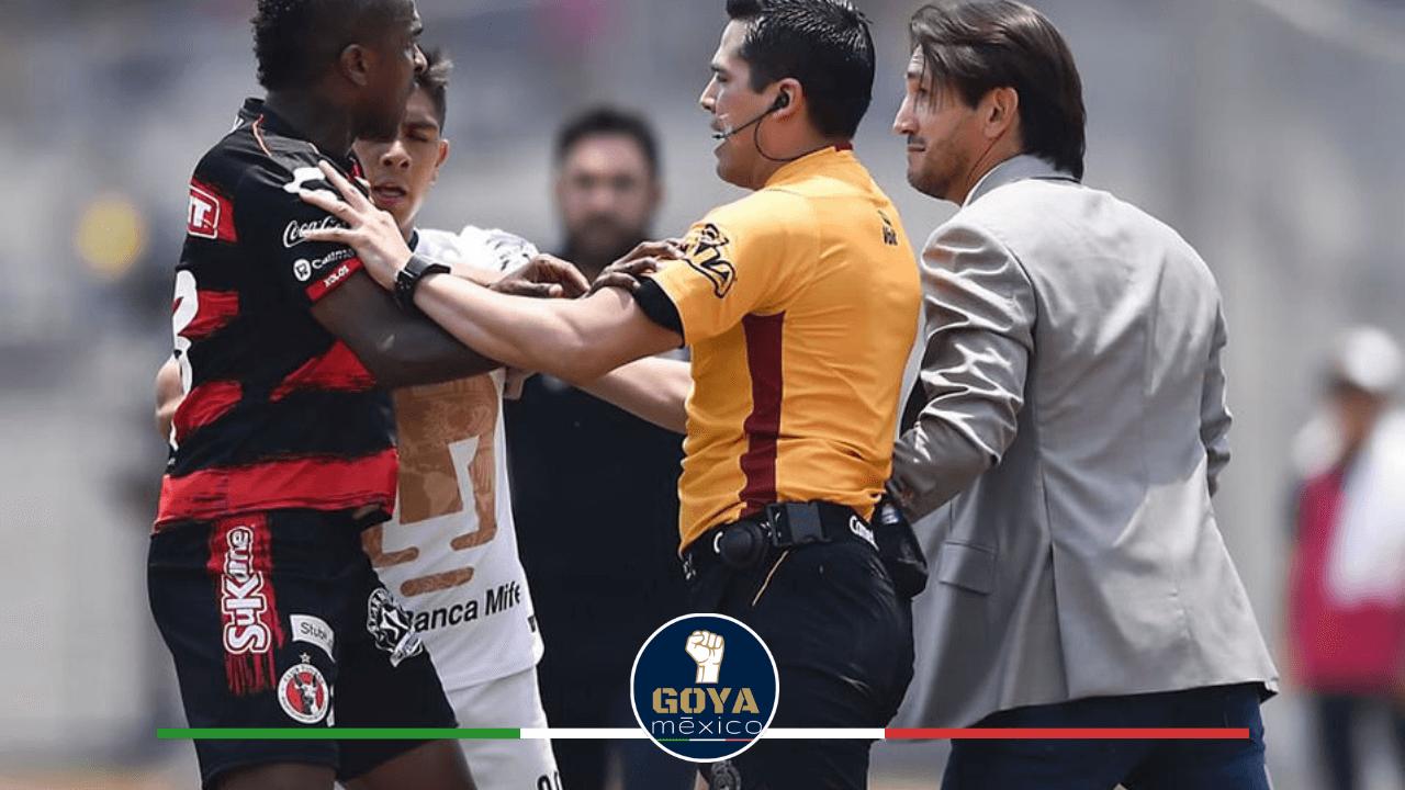 Bruno Marioni inicia altercado, ahora en Liga MX