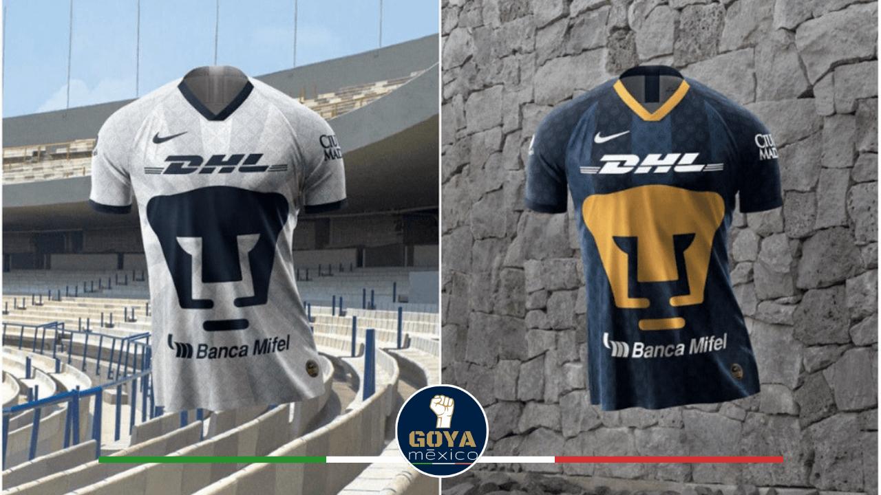 La historia de los nuevos jerseys de Pumas