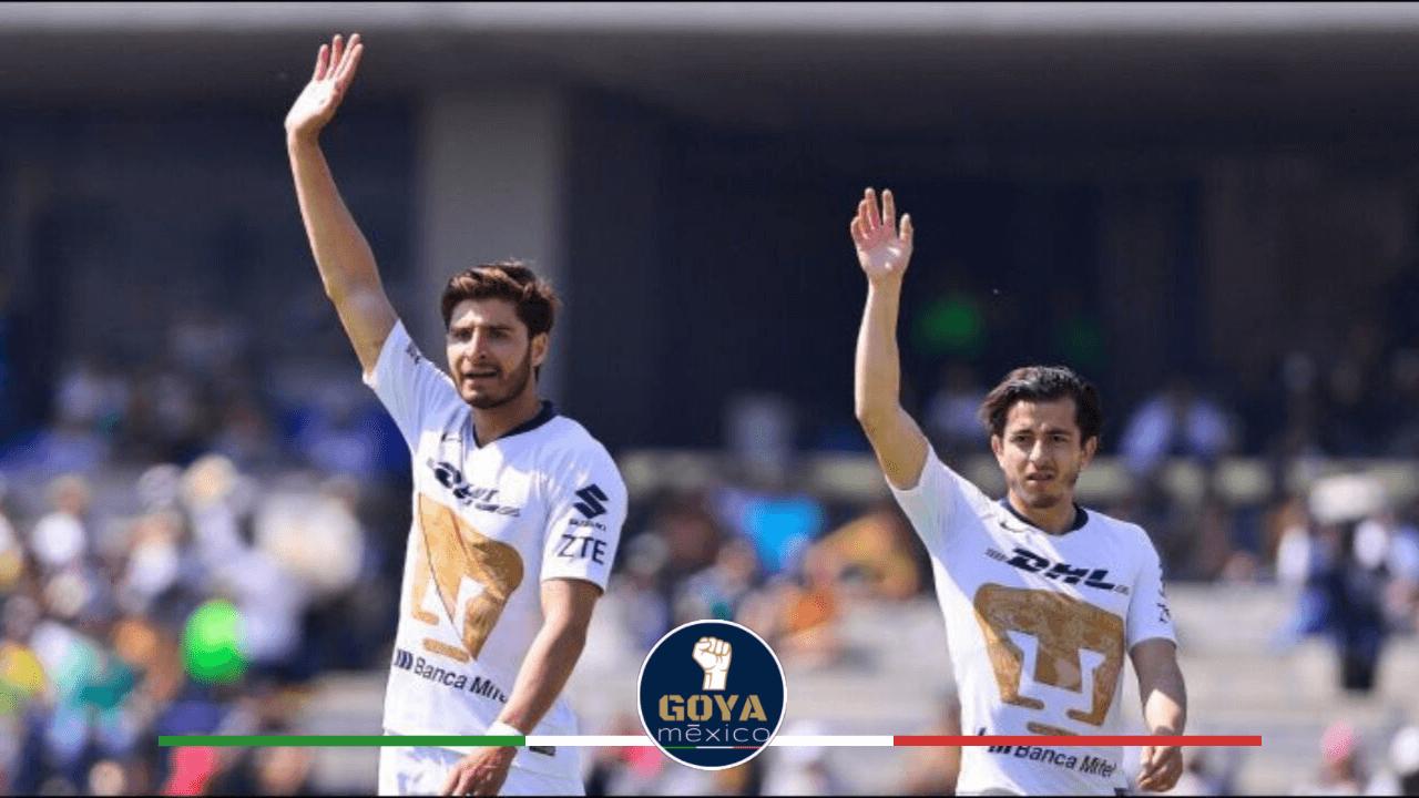 Pumas solo tiene 2 goles en contra en Liga.