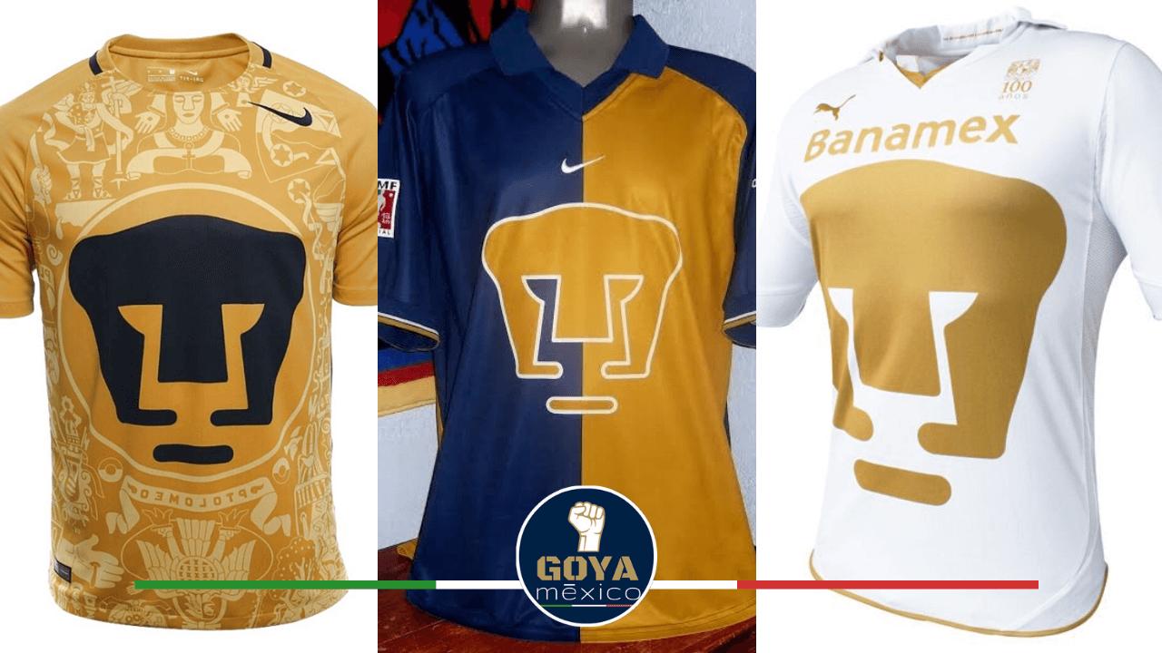 Top 10 de Mejores Jersey de Local de Pumas.