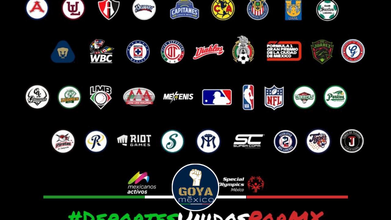 Pumas se une a la iniciativa #DEPORTESUNIDOSPORMX