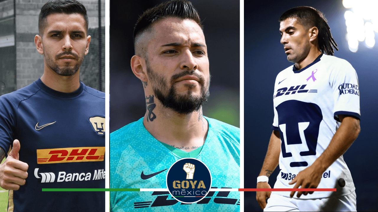 ¿Qué jugadores deben de salir de Pumas?