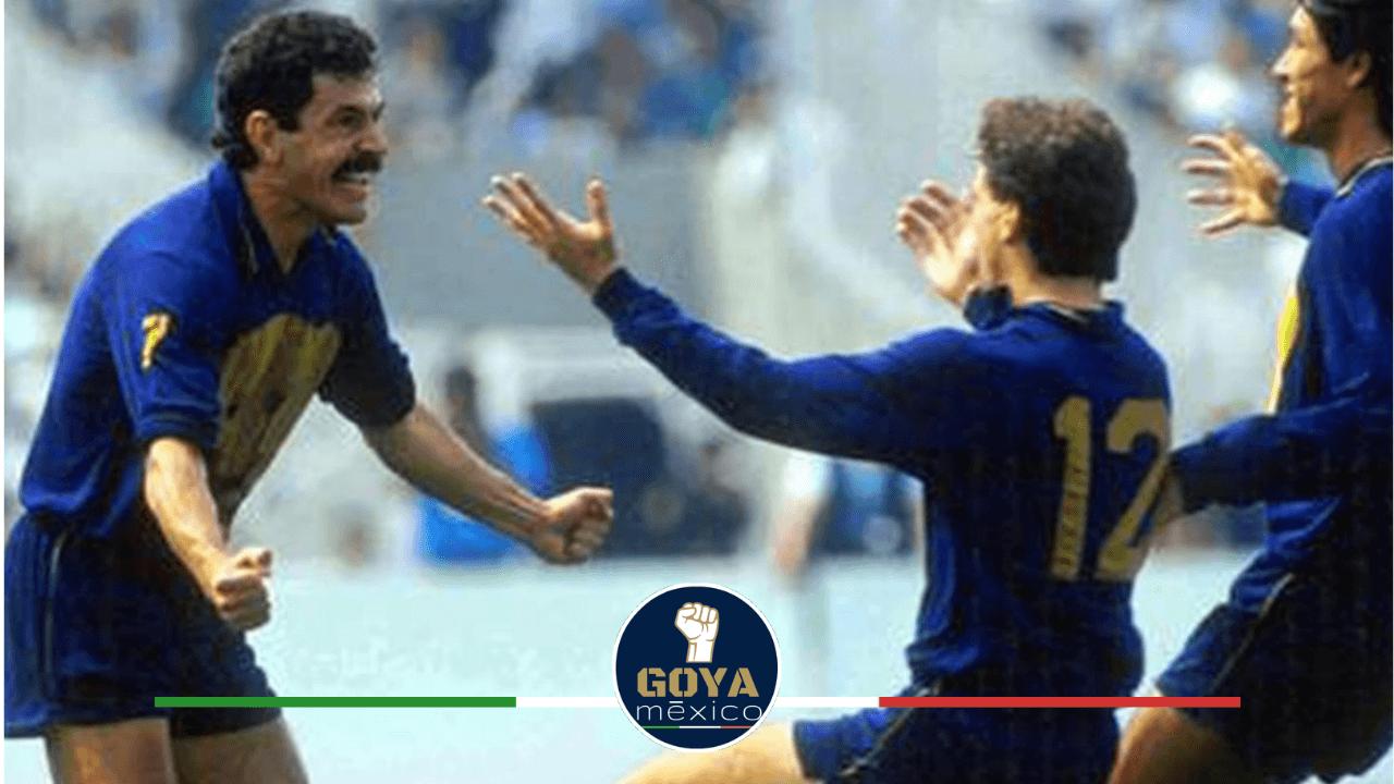 """A 29 años del """"Tucazo"""" en aquella final Pumas vs América."""