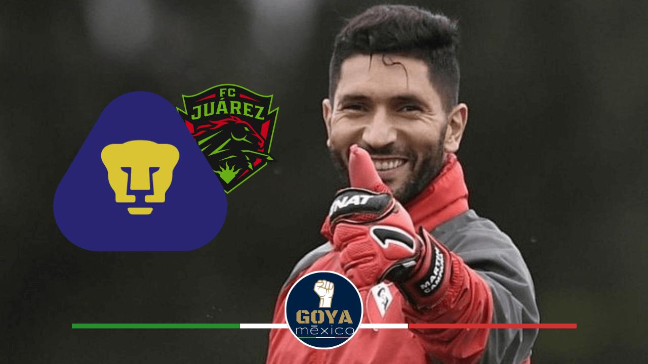 Juárez FC busca pelear con Pumas por Martín Campaña.