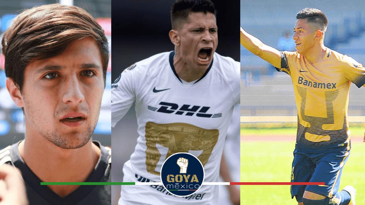 Jugadores que Pueden Regresar a Pumas este Apertura 2020.