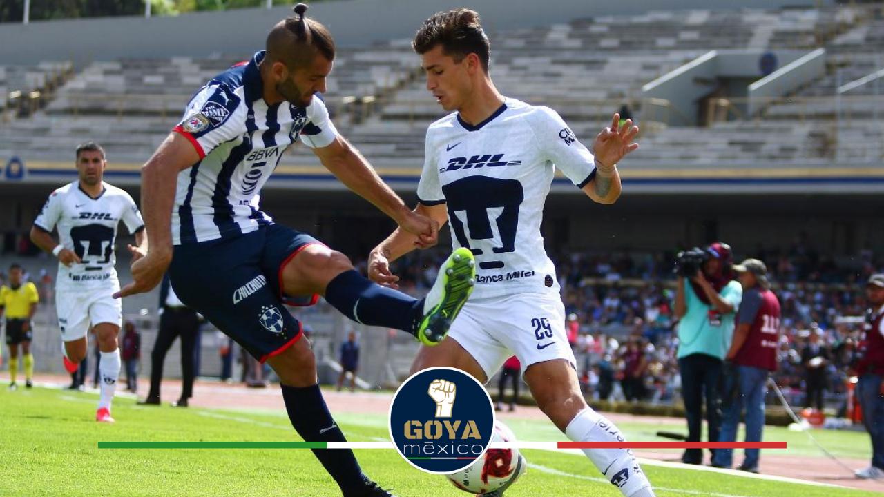 ¿Como jugará Pumas ante Monterrey?