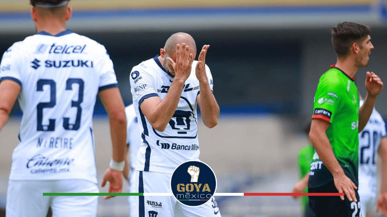 Lamentable Actuación de Pumas ante Juárez.
