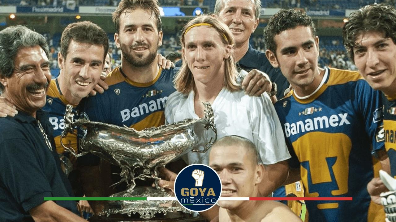 A 16 Años de que Pumas Conquistó el Santiago Bernabéu.