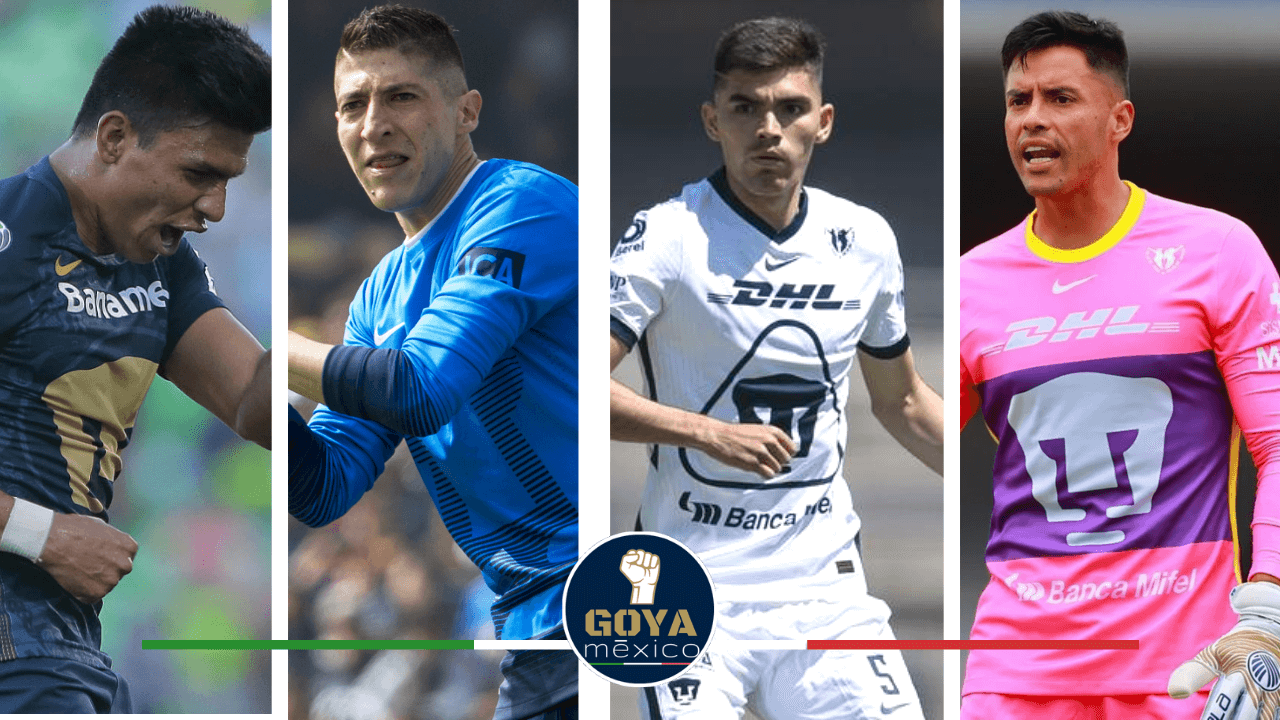 Los últimos 3 Jugadores de Pumas Llamados a la Selección Mexicana.
