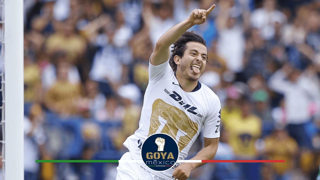 Pumas vs Necaxa, Lindo Recuerdo para Alan Mozo.