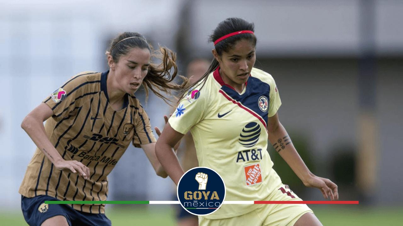 Pumas vs América. Clásico Capitalino en la Liga MX Femenil.