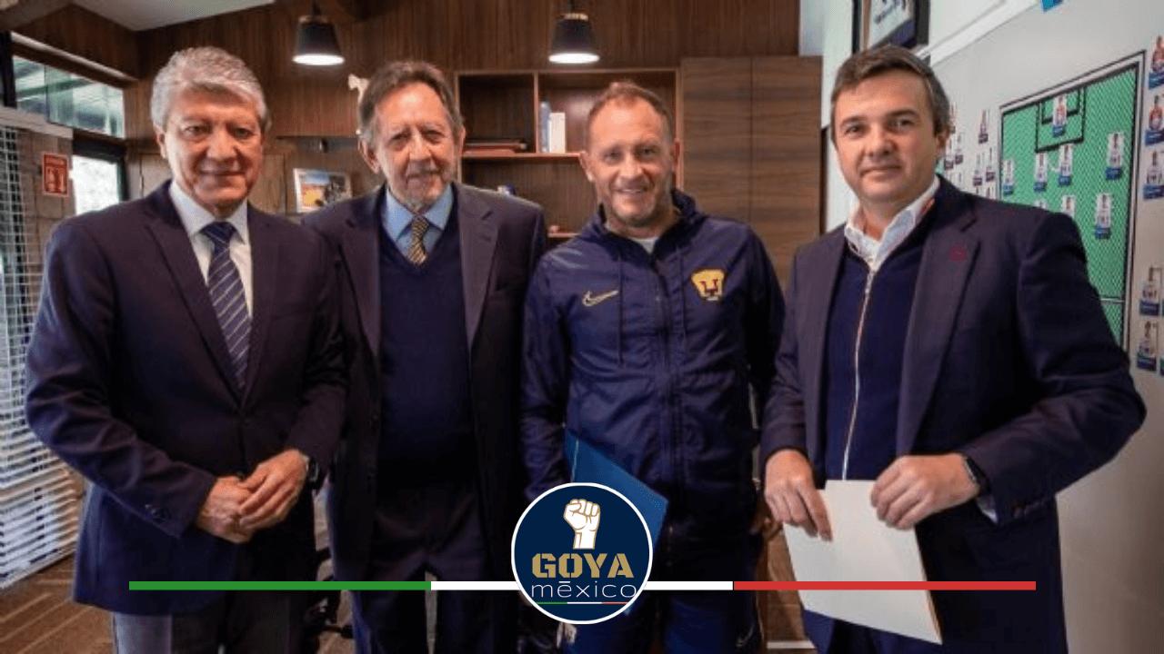 Andrés Lillini Se Queda en Pumas Hasta el 2022