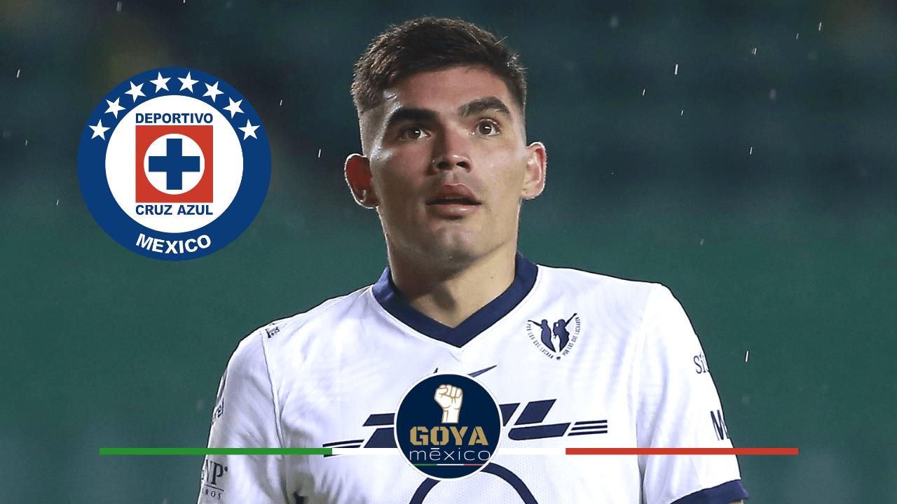 Cruz Azul está interesado en contratar a Johan Vázquez.