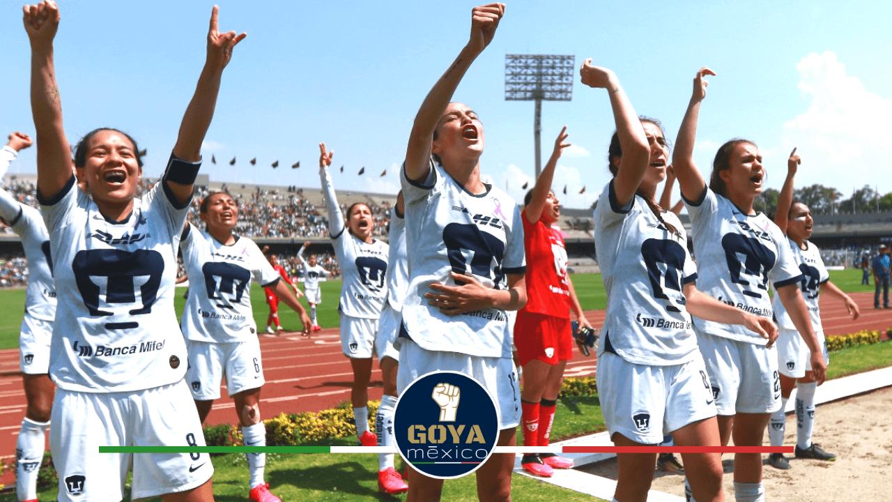 Pumas Femenil jugará de local en el Olímpico Universitario.