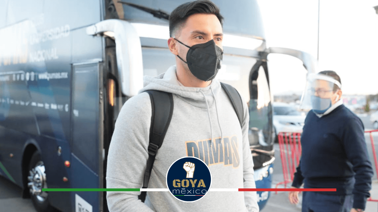Alfredo Talavera hizo el viaje con el equipo a Pachuca.