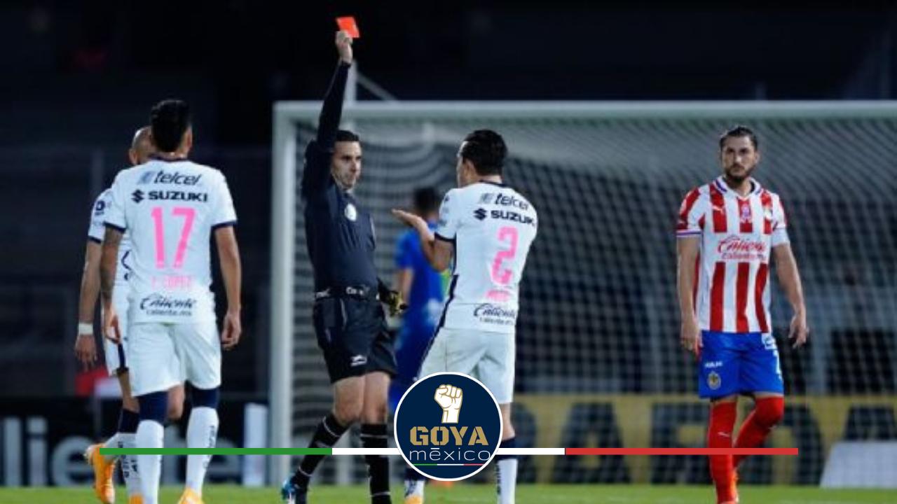 César Arturo Ramos Silbara el Pumas vs Cruz Azul