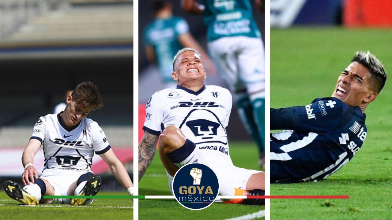 Los Jugadores de Pumas Recuperados por Lesiones que Jugarán la Final en Pumas