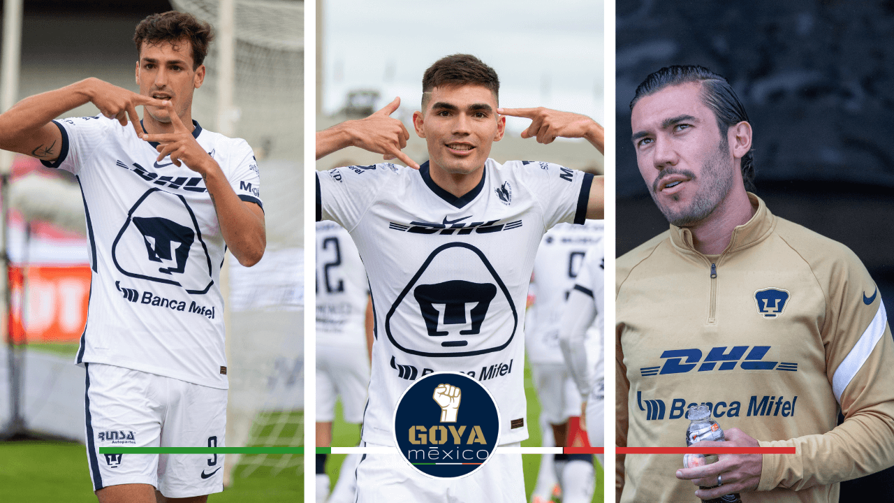 ¡Pumas en el XI Ideal de las Semifinales de la Liga MX!