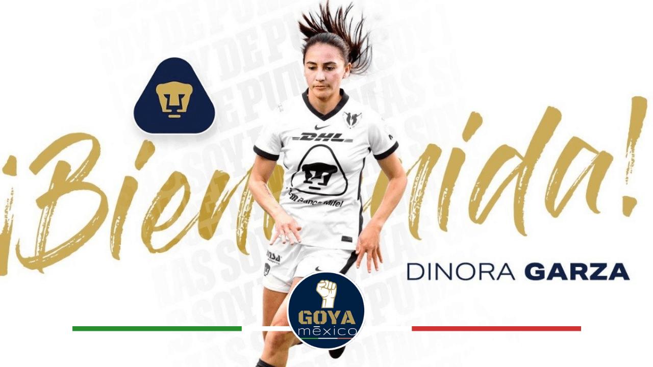 Bombazo en la Femenil, Dinora Garza llega a Pumas.