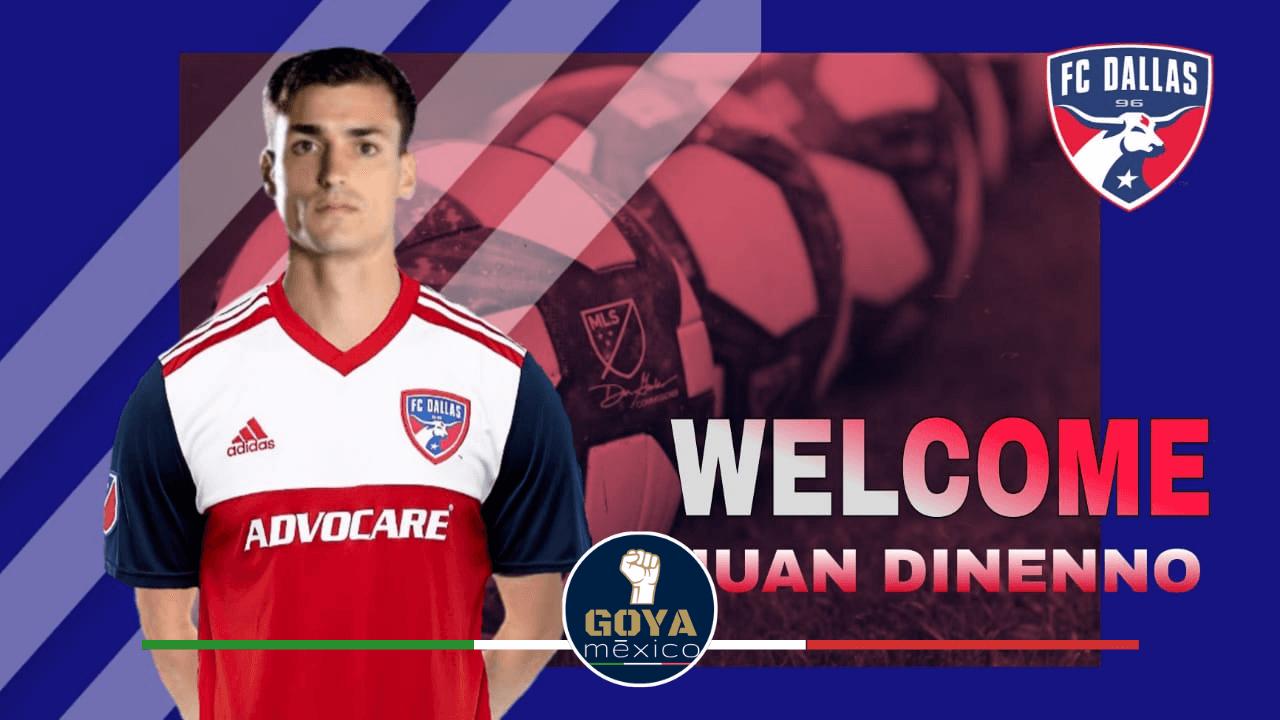 Juan Ignacio Dinenno es nuevo jugador de FC Dallas en la MLS