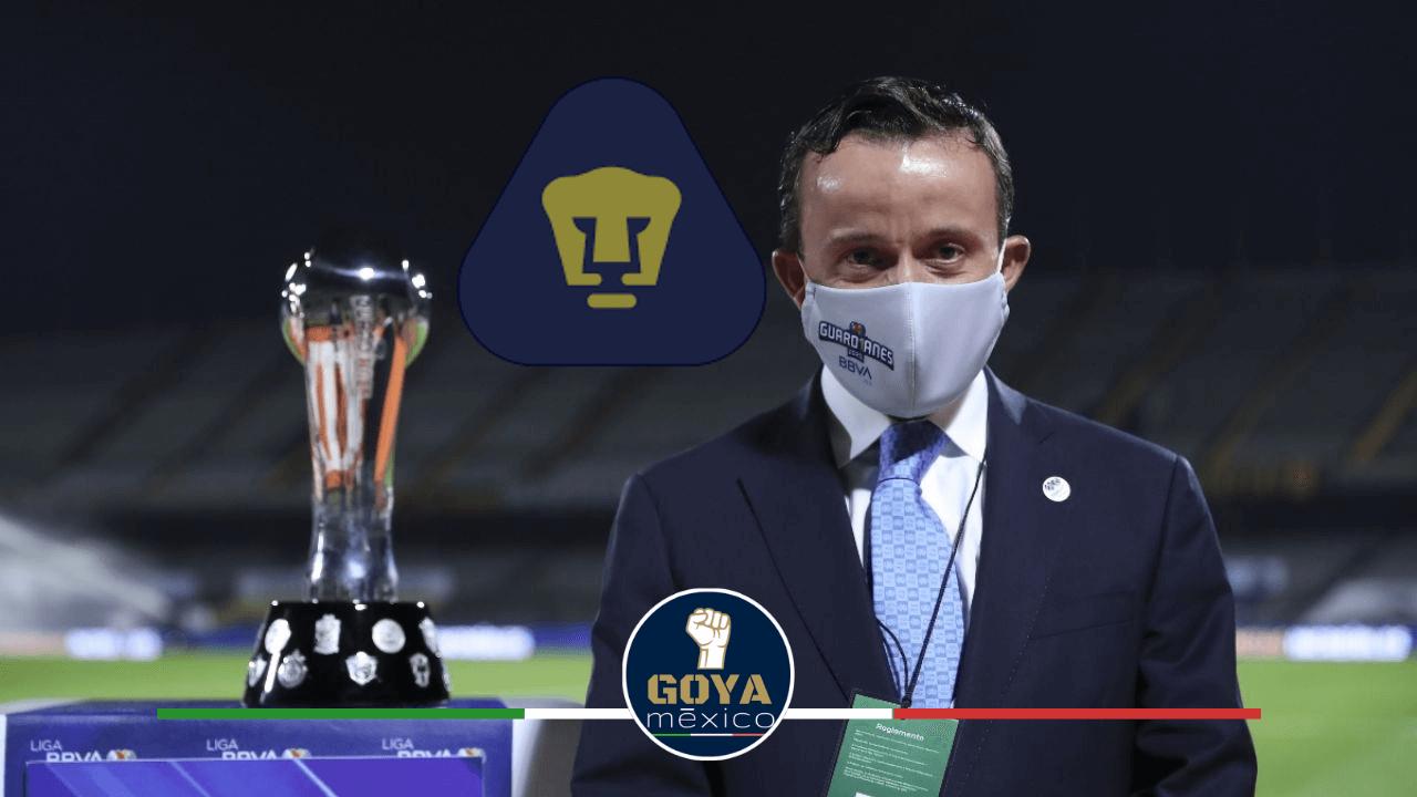 El Nuevo Presidente de la Liga MX es Seguidor de Pumas.