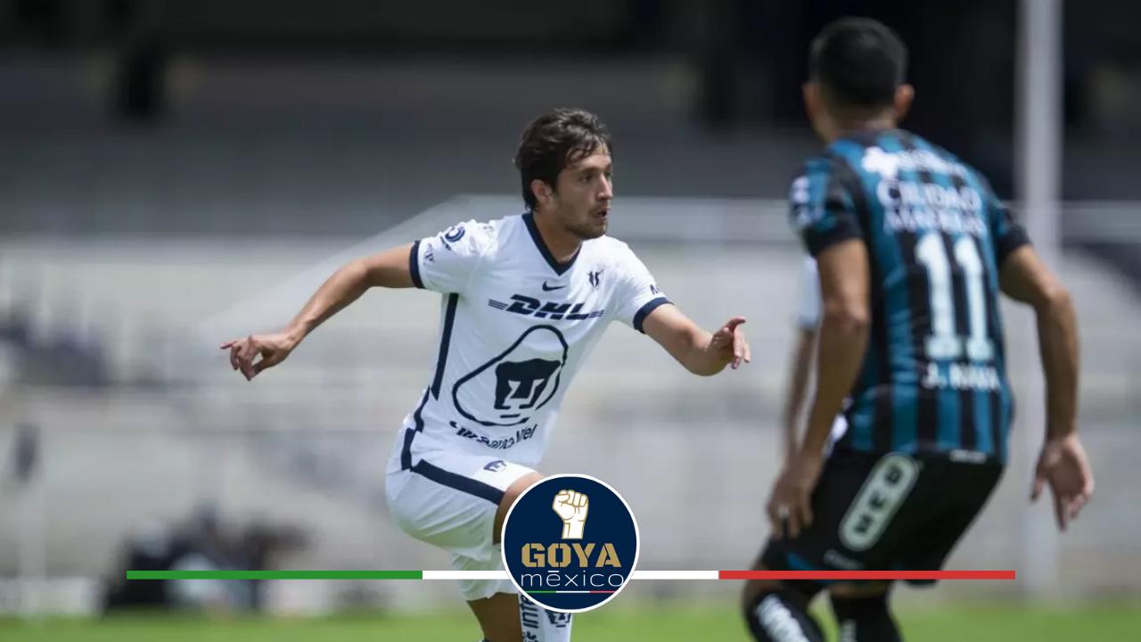 ¡Pumas Presentaría este XI Inicial ante Querétaro!