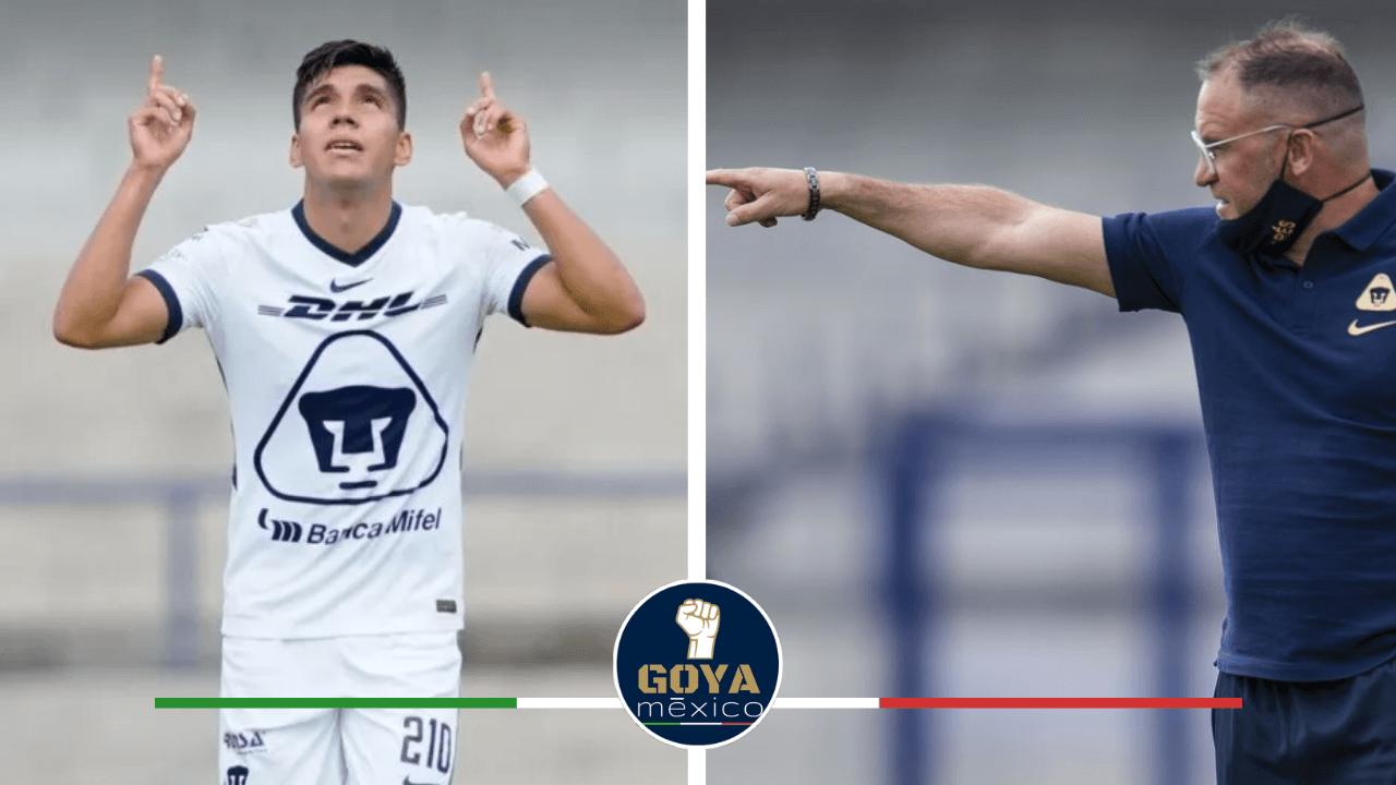 ¡Confianza total en el primer equipo! Andrés Lillini confía totalmente en Emanuel Montejano, y con mucha razón.