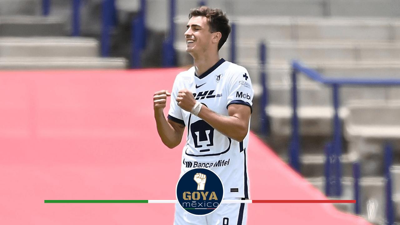 Juan Dinenno el segundo mejor goleador del último año en México.