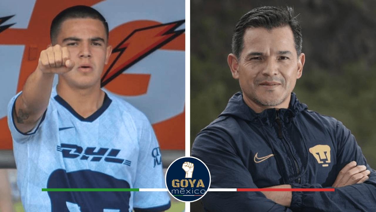 Israel López está haciendo todo para subir a Marco García al primer equipo.