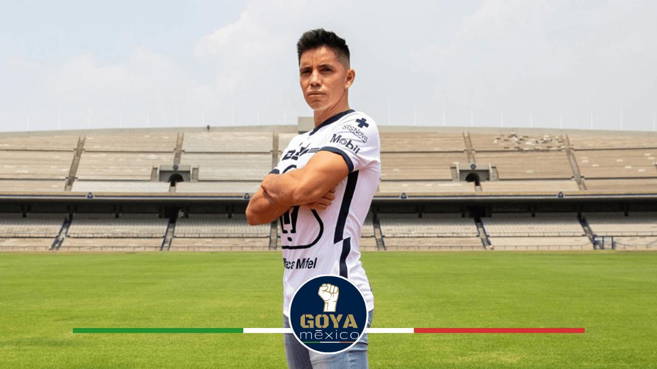 Efrain Velarde quiere ser un líder en Pumas para futuras generaciones.