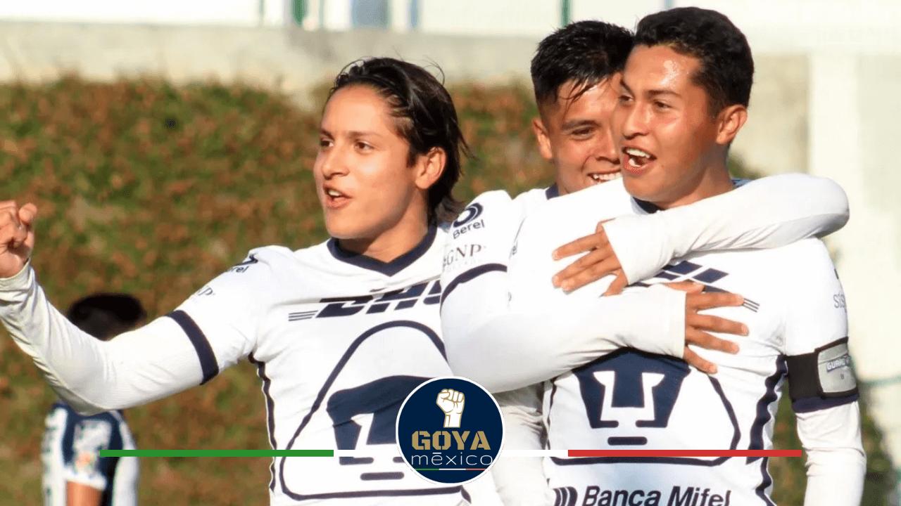 Las 2 promesas de Pumas sub-17 que están con Selección Nacional.