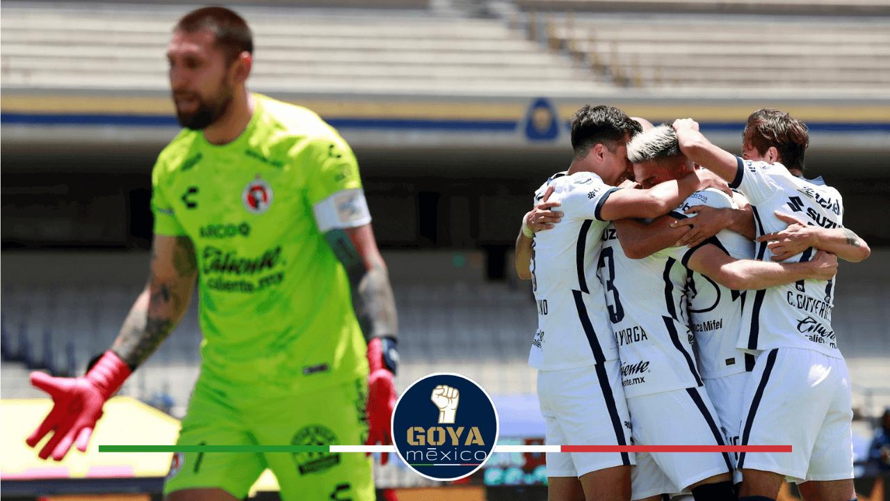 ¡El premio al mejor gol del año es para Pumas!