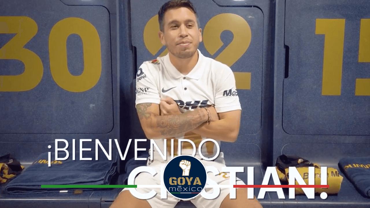 ¡Cristian Battocchio es presentado con Pumas de manera oficial!