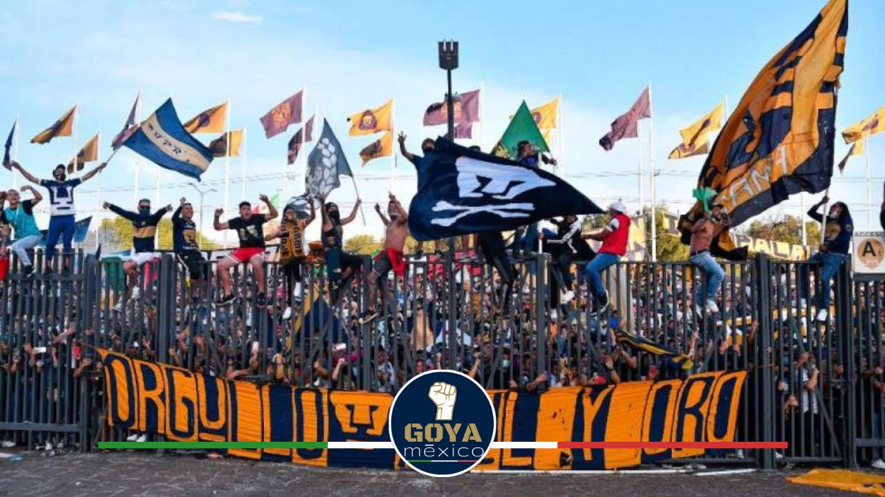 La Rebel Protestará Previo al Pumas vs Puebla