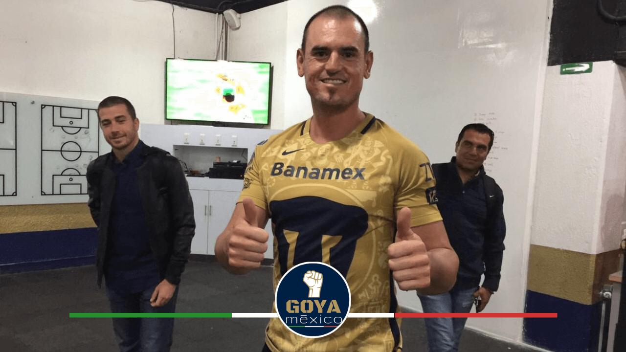 Un histórico del Béisbol en México demuestra su amor por Pumas.