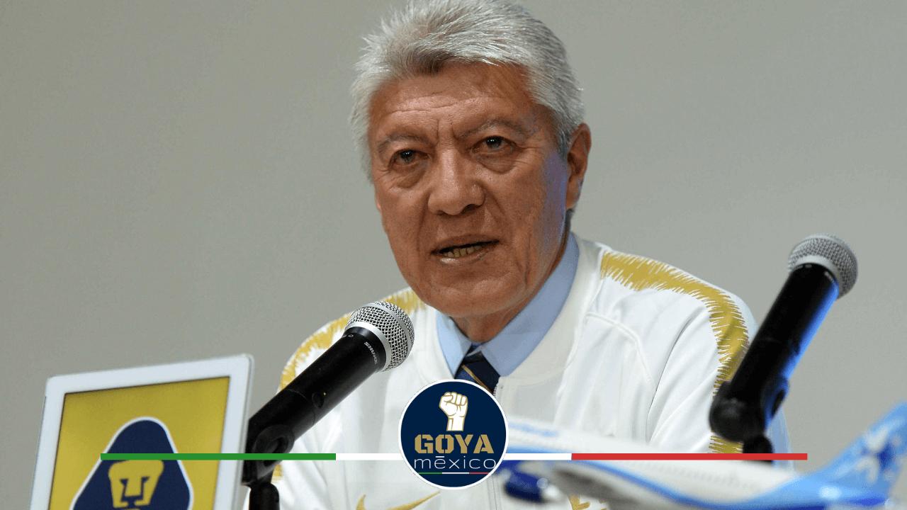 Jesús Ramirez renuncia como presidente deportivo de Pumas.