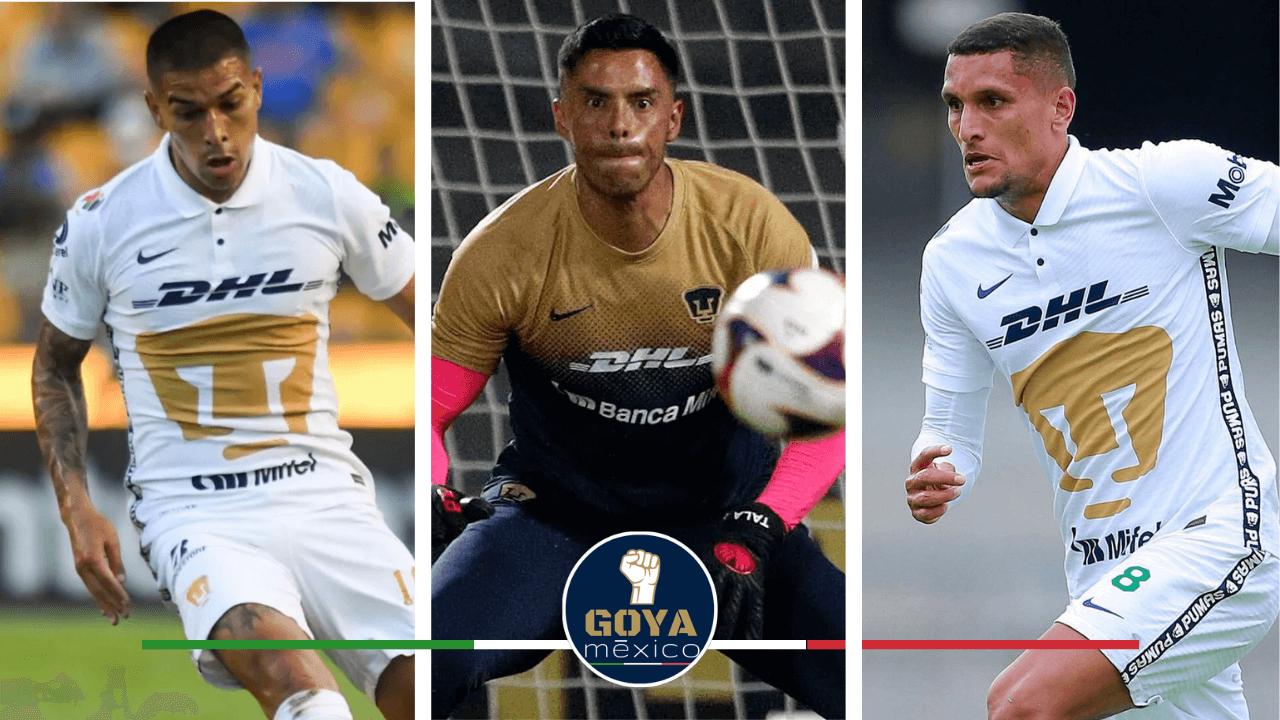¡El Posible XI de Pumas para el duelo frente a Club América!